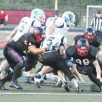 Point tames Panthers, 62-7