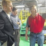 Smith tours Jackson County businesses