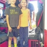Little Pioneers Cloverbuds learn fire safety