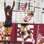 Dozen locals earn TVC Hocking volleyball honors