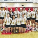 Lady Eagles win district title