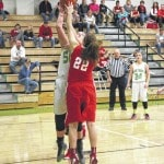 Lady Eagles roll past Wahama, 47-6