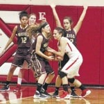 Lady Marauders roll past Wahama, 54-18