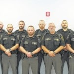 Officers raise money for cancer research