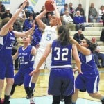 Lady Defenders hold off TVCS, 54-45