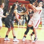 Belpre sweeps Lady Falcons, 65-17