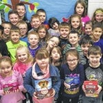 Point Primary students donate to shelter