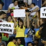 Boisterous Brazilian fans rewrite rules of Olympic etiquette