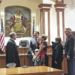 Dyer takes oath of office
