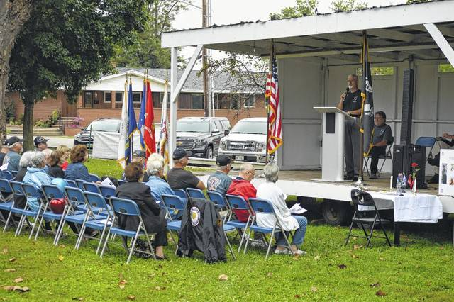 Veterans and residents gathered Friday morning to remember POW and MIA veterans in Gallipolis City Park.