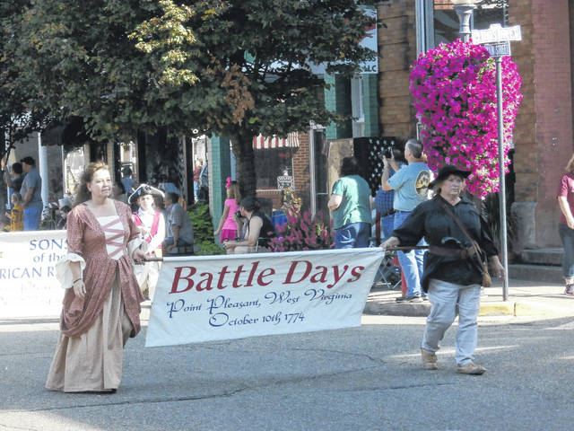 The Battle Days parade begins on Main Street on Saturday.