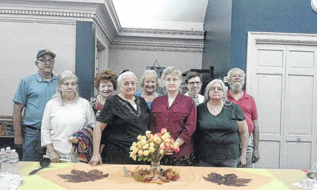 Pictured from left, Max Price, Sue Underwood, Feryle Lawrence, Marilyn Clarke, April Pyles, Robin Harbrecht, Patrecia Gray, Carol Newberry, and Joseph Ingerick.