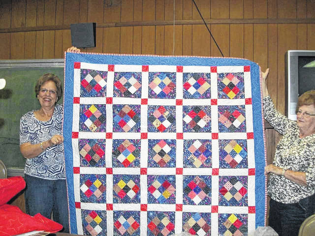 Pictured is one of the quilts which will be presented to a local veteran by the Quilts 'N Things Quilt Guild at a special service on Veteran's Day.