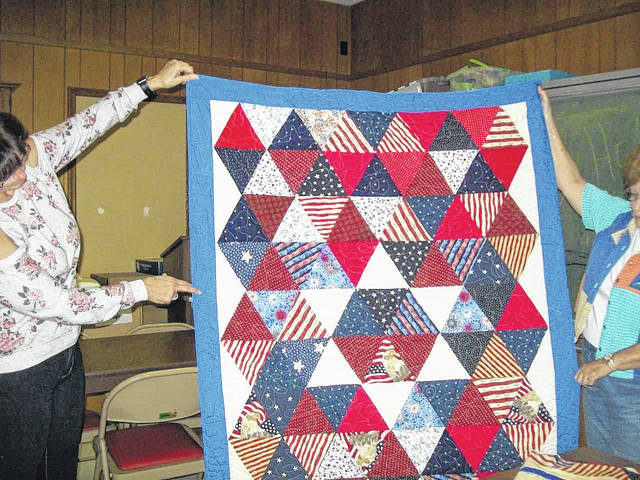 "A ""Quilt of Valor"" which will be presented to a local veteran during a special service on Veteran's Day."