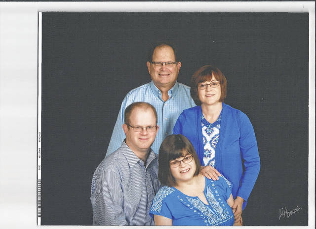 Pictured are Dallas and Lee Anne Kayser with two of their children Matthew and Katie.