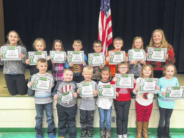 The following students of the month at Beale Elementary were recognized for fairness in December including Bentley Trippett, Ethan Weaver, Zoie Whittington, Macie Simpkins, Cirena Oldaker, Journey Walker, Savion Black, Liam Durst, Madelyn White, Skylar Birchfield, Caleb Logan, Cohen McDaniel, Kaitlyn Goodwin, Delaney Pearson, and Skyla Fenstermacher.