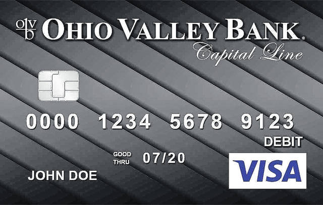 Ohio Valley Bank releases new debit card designs as part of its move to Visa.