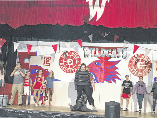 Wahama White Falcons will portray East High Wildcats for their spring musical.