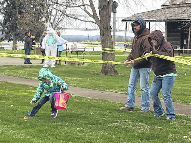 The annual Point Pleasant Easter egg hunt was held this past weekend at Tu-Endie-Wei State Park, organized by the Point Pleasant Presbyterian Church. Despite the cool temperatures and other Easter events around the community being delayed, the hunt went on as scheduled with the Easter Bunny in attendance. More photos from the egg hunt appear inside this edition and online at www.mydailyregister.com.