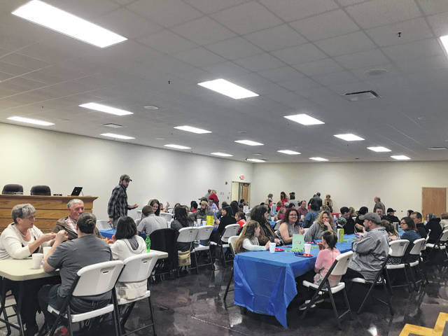 The students who placed in the Young Illustrators were invited, along with their families, to have pizza and cake on Tuesday at the Mason County Schools administrative offices.