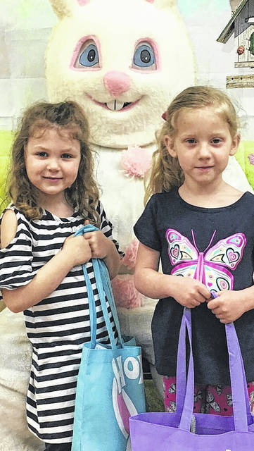 The Easter Bunny came to visit the children at the Early Education Station during their Easter Party.