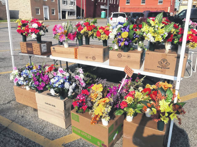 Point Pleasant In Bloom's annual perennial flower sale will be held Saturday, May 12 beginning at 9 a.m. at the parking lot beside the Mason County Courthouse.