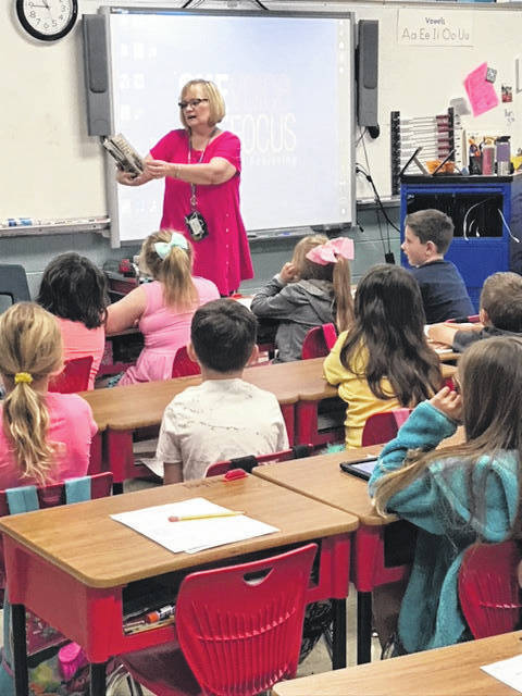 Judy Browning is a title one teacher at Point Pleasant Primary School.