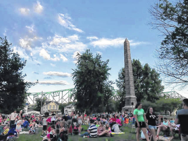 Tu-Endie-Wei State Park was filled with approximately 300 viewers last summer for the inaugural Movie at the Point.