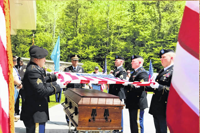 On May 12, WWI Medal of Honor recipient Chester Howard West was laid to rest at the Donel C. Kinnard Memorial State Veterans Cemetery.