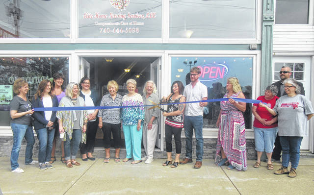 River Tern Market officially opened last week on Main Street in downtown Pomeroy, providing many local natural and organic products. Owned and operated by Eddena and Tyler Roberts, River Tern Market is located in the same building as Elite Home Nursing on East Main Street. Eddena Roberts explained that the goal of the market is to bring local and organic products to the area. Some of the items in the market include Herbal Sage Tea from Pomeroy, Wildfire Herbs and Equinox Botanicals from the Rutland area, and Crumbs Bakery from Athens, as well as numerous other products.