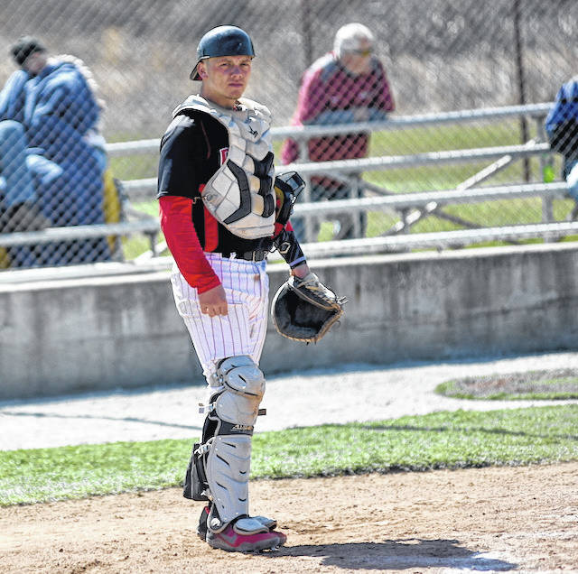 Rio Grande sophomore catcher Dylan Shockley was named the River States Conference Player of the Year during ceremonies between games at Thursday night's RSC Baseball Tournament at VA Memorial Stadium in Chillicothe, Ohio. Shockley was also named to the RSC Gold Glove Team as the league's top defensive catcher.