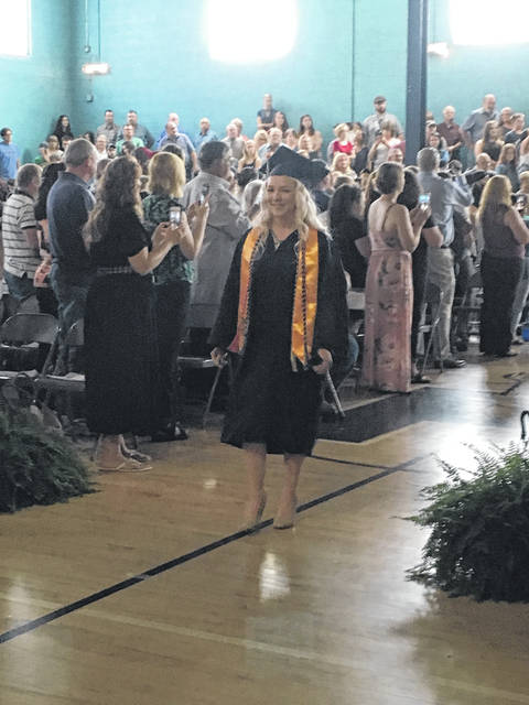 The Hannan High School graduates walked down the aisle one by one towards the next chapter of their lives.
