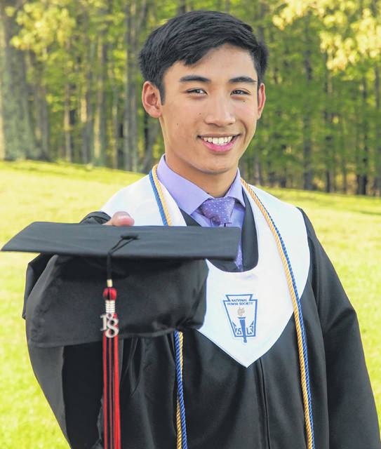 Bryce Tayengco, a top student of PPJ/SHS 2018 graduating class, was recently named a National Merit Scholarship winner.