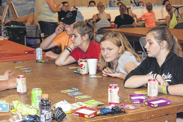 The campers have been utilizing the finished dining hall for several activities.