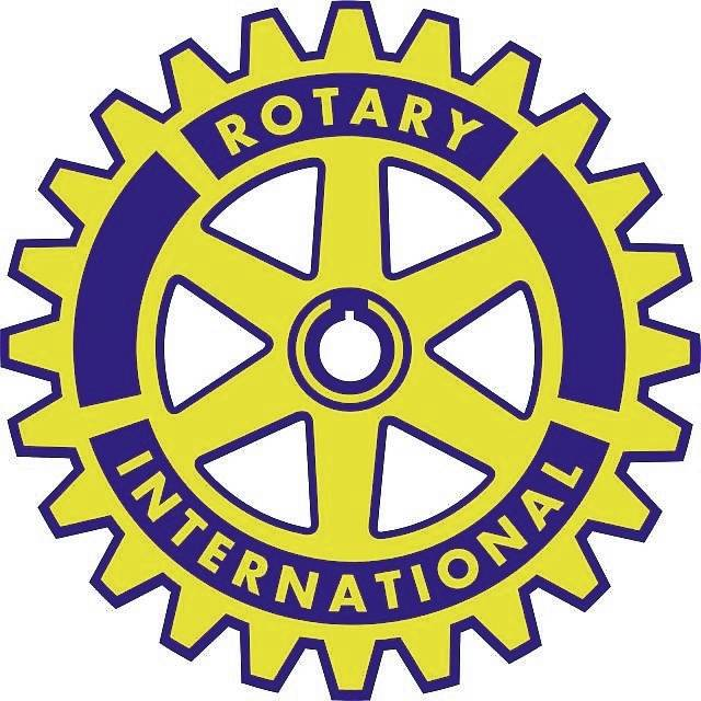 The Rotary International symbol.