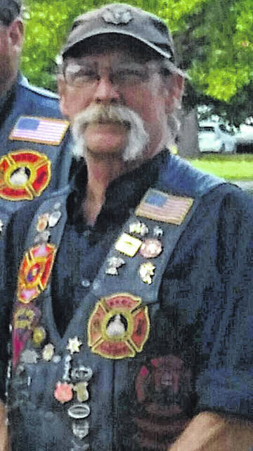 "Tim ""Roadie"" Adkins is a veteran, a firefighter, and the president of the motorcycle club Red Knights Motorcycle Club of West Virginia Chapter Two."