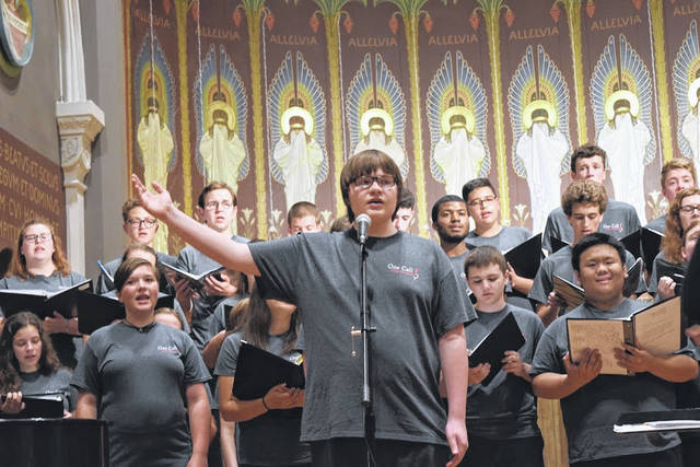 Upon completion of the institute, the students presented a concert to family members, local community members, and representatives of Catholic music publishing companies.