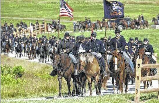 Union troops travel through southeastern Ohio in hopes of catching up with Morgan and his Raiders.
