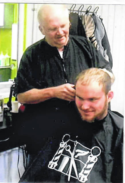 Rich Sines recently graduated from Career Barber School in Belle, West Virginia. Rich is now in business at The Body Barn in Clifton, West Virginia.