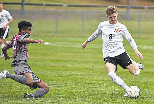Rio senior Harry Reilly and the rest of the RedStorm were an overwhelming top pick in the RSC Men's Soccer preseason coaches' poll.