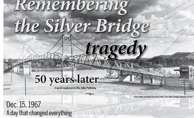 "Ohio Valley Publishing's Point Pleasant Register took home a second place award for Best Special Section in Division 2 for its ""Remembering the Silver Bridge Tragedy, 50 years later."" These commemorative pages were printed in the Dec. 15, 2017 editions of the Point Pleasant Register, The Daily Sentinel and Gallipolis Daily Tribune. OVP staff from its three publications contributed to this special section."