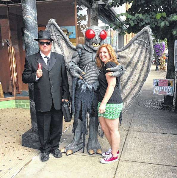 Mothman Festival goers will be able to take their picture with Mothman.