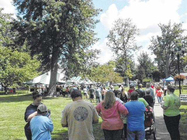 The fourth annual Gallia County BBQ festival drew a a large crowd to the City Park in Gallipolis last year, and event organizers are hoping for a repeat this September.