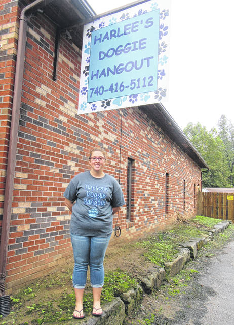 Taylor Hysell is the owner of Harlee's Doggie Hangout, which is named after her dog Harlee.