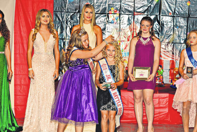 Gracyn Stein was crowned as the 2018 Junior Miss Battle Days.