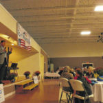 The race is on: Manchin keynotes rally, dinner