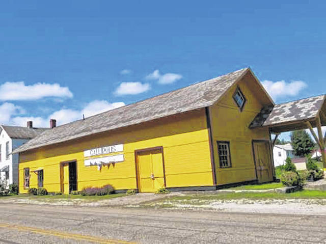 The Gallipolis Railroad Freight Station Museum.