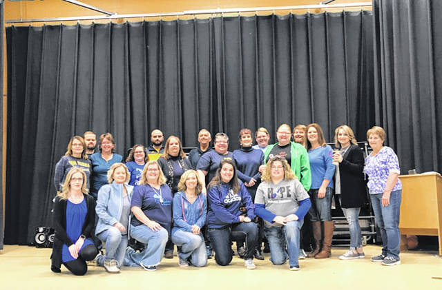 Recently, the staff at Beale Elementary dressed in blue to spread awareness for Diabetes Awareness Month.