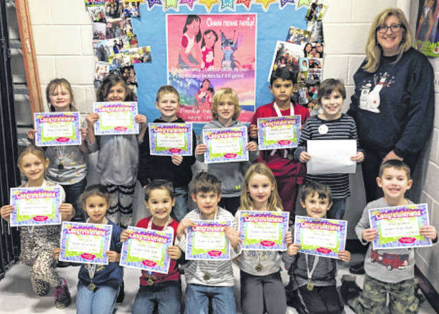 Point Pleasant Primary School (PPPS) November Students of the Month were recently selected by their teachers. Students enjoyed a lunch with their Principal Vickie Workman. The students who are pictured with their principal is Bri Lewis, Patrick Grady, Blessed Delahoussaye, Luke Woodall, Trenton Thaxton, Raelynn Dewitt, Aaron Harmon, Nevaeh Cox, Maddox, McDaniel, Echo Dailey, Houstan Randolph, Annabelle Dudley, and Elliot Stephens