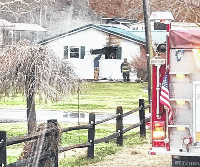 A house on California Street in Hartford received extensive damage following a wood burning heater accident Wednesday morning. Firefighters from New Haven, Mason, Pomeroy and Middleport departments were on the scene with 25 men and six engines. The residents escaped without injury.
